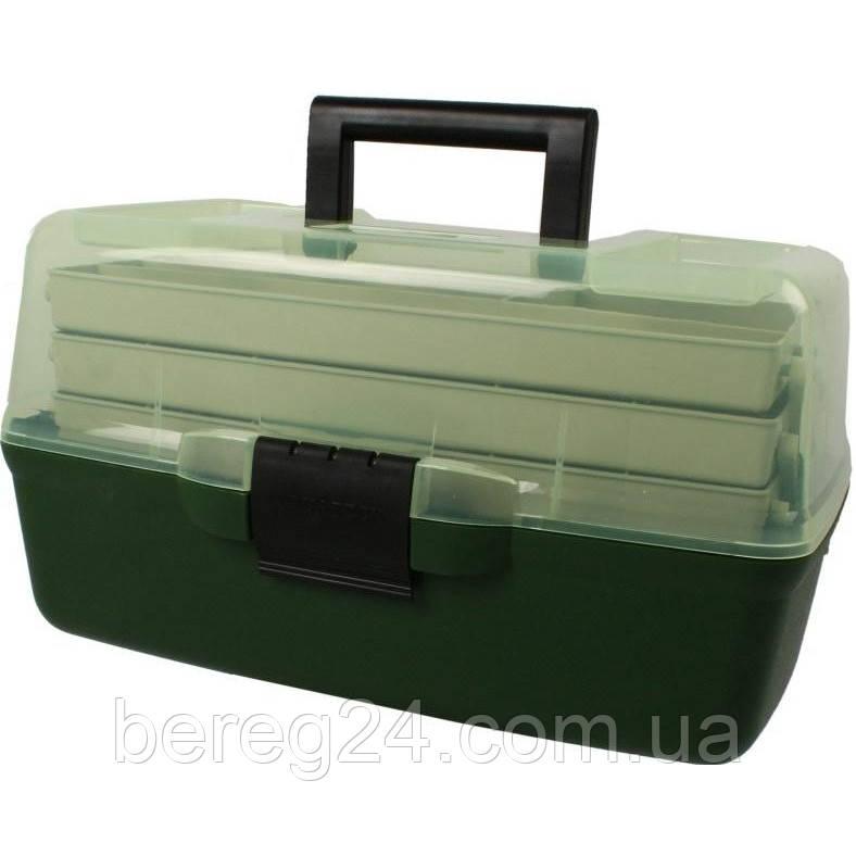 Ящик рыбацкий 1703  3-х полочный