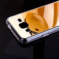 Силиконовый зеркальный чехол для Samsung Galaxy J3 (2016), фото 1
