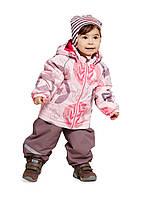 Демисезонный костюм (ветровка + полукомбинезон) для девочки Lassie by Reima 713703 - 4071. Размер  80 -98.