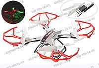 Квадрокоптер DH861-X13, радиоуправление, аккумулятор, свет, USB-зарядное, запасные лопасти, 2 цвета, коробка