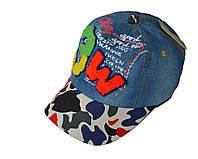 Джинсовая кепка  3W