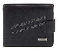 Мужской стильный классический прочный кошелек бумажник FUERDANNI art. 4355 черный