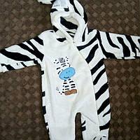 Теплый Человечек Зебра  для новорожденного человечек для мальчика Малыша девочки