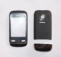 Корпус Nokia C2-02 черный (копия класса A)