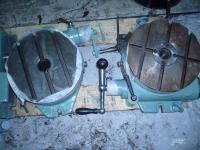Стол поворотный круглый фрезерный горизонтальный диаметр 250 мм.