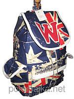 Стильный рюкзак W KANADA Оригинал ,высококачественный,  фабричный!