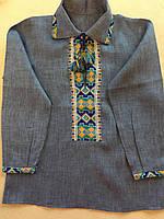 Сорочка вишита на льоні для хлопчика 5-6 років