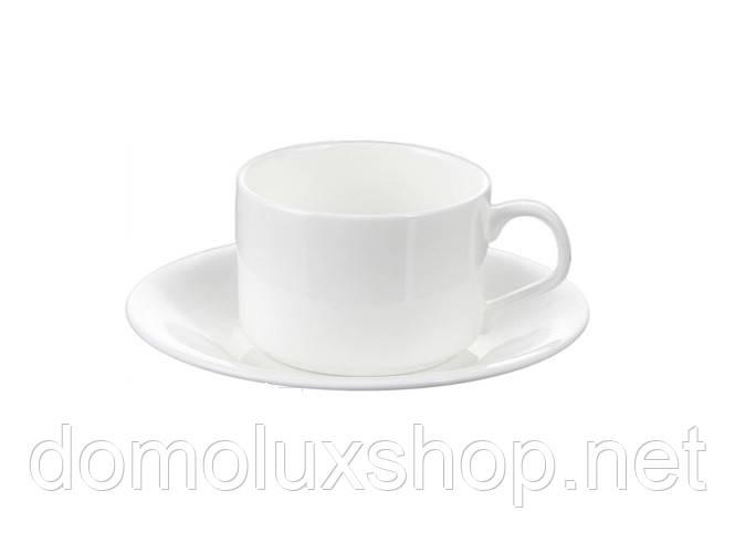 Wilmax Чашка чайная 160 мл + блюдце (WL-993006)