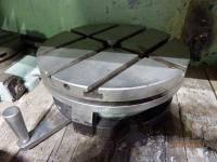 .Стол поворотный круглый горизонтальный П-37 диаметр планшайбы 320 мм.