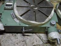 .Стол поворотный круглый координатный 7400-0224 механический с нониусной шкалой, диаметр 320 мм
