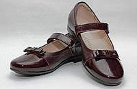 Школьная обувь для девочекТуфли лак для девочки 1696/31/бордовый к в наличии 31 р., также есть: 31,35, Palaris_Родинний - 3