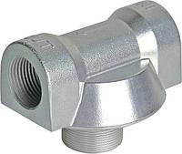 Адаптер алюминиевый для фильтров CIMTEK серии 400,арт. CT50034, впускное отверстие 1',  проток — до 120 л/мин.