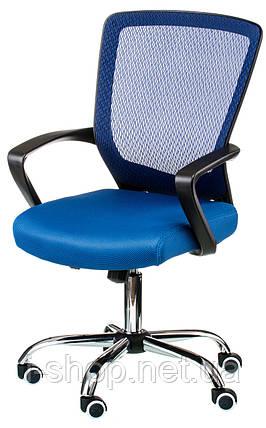 Крісло офісне Special4You Marin blue, фото 2