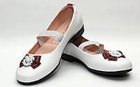 Школьная обувь для девочекТуфли нарядные для девочки 2071/33/белый, бан в наличии 33 р., также есть: 33,36, Palaris_Родинний - 3