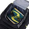 Рюкзак Armour черный с салатовым логотипом (реплика), фото 5