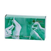 Перчатки «Semperсare Latex» латексные, припудренные, не стерильные.