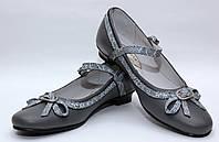 Туфли нарядные для девочки 567/32/серый в наличии 32 р., также есть: 30,32,34, Palaris_Родинний - 3
