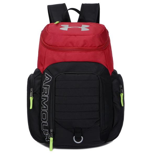 Спортивный рюкзак Armour черный с красным (реплика)