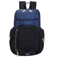 Рюкзак Armour черный с синим