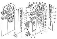 Щиты контроля и управления компрессоров 2ВМ10-63/9 и 4ВМ10-120/9