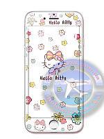 Защитное стекло Iphone 5 5c 5s Hello kitty