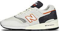 Мужские кроссовки New Balance 997 (Нью Баланс) серые