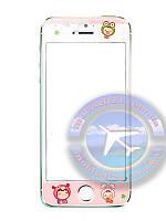 Защитное стекло Iphone 5 5c 5s Дети Зверюшки