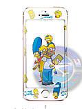 Защитное стекло Iphone 5 5c 5s Симпсоны The Simpsons, фото 2