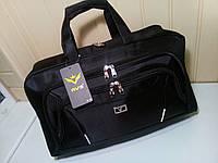 Дорожная сумка 46 литров черная, фото 1
