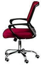 Крісло офісне Special4You Marin red, фото 2