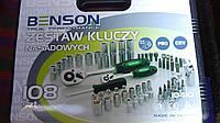Набор головок ключів на 108од фірми Benson