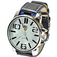 Часы Ferrari95-11-5 кварцевые диаметр корпуса 4,5см, ремешек кожзам