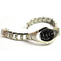 Часы Cussi 59-2 корпус черные 4х2см, ремешок под серебро