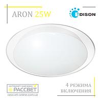 Потолочный светодиодный светильник ARON R-1601 25W на 4 режима включения (типа Saturn A01) 2200Lm