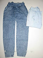Котоновые брюки на девочку GLO-STORY 152-158-164-170  рост