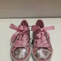 Кеды на шнурках для девочек