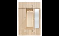 Шкаф для одежды в спальню, гостинную, прихожу с антресолью, раздвижной двухдвер, купе СП Модерн 1,5м