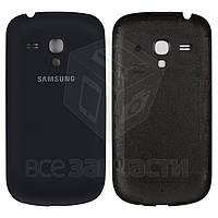 Задняя крышка батареи для мобильного телефона Samsung I8190 Galaxy S3 mini, синяя