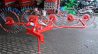 Грабли ворошилки на  5 солнышек Biardzki (Польша)