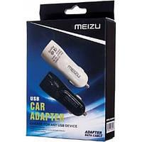 Автомобильное зарядное устройство Meizu 2in1 (2 USB/ 3.1A) с micro кабелем