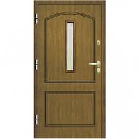 Бронированные Входная бронированная дверь для квартиры и домов эконом класса Gerda Q+ Domino Londyn со стеклом