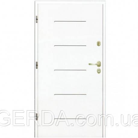 Бронированные Входная бронированная дверь для квартиры и домов эконом класса Gerda Q+ Domino Denver - GERDA.com.ua в Киеве