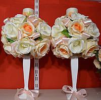 Свечи Венчальные на подставки