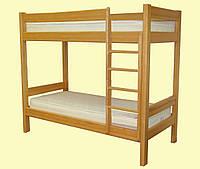 Кровать двухъярусная деревянная МАЛЬВИНА (80х190 см)