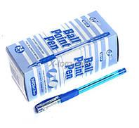 Ручка TianJiao шариковая TY-501P с резинкой