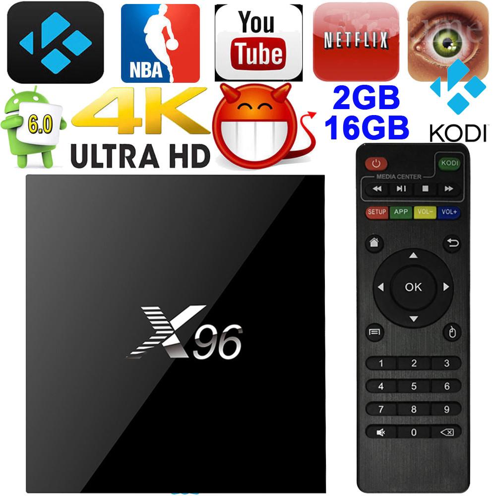 ТВ Приставка X96  2/16 Гб. Android 6.0