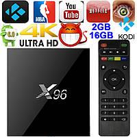ТВ Приставка X96  2/16 Гб. Android 6.0, фото 1
