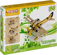 Конструктор Engino серия Eco Builds - Самолеты, 3 модели