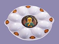 """Блюдо для яиц """"Богородица"""". Пасхальные сувениры"""