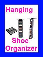 Подвесной органайзер для шкафа Hanging Shoe Organizer!